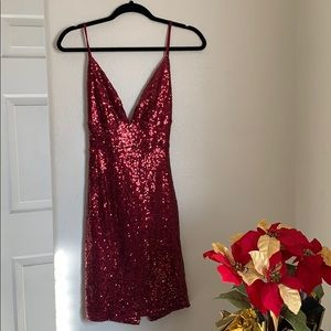 Never worn party dress. Perfect for New Years!
